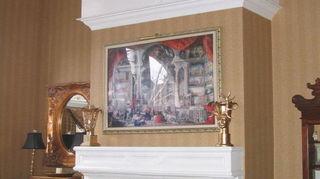q antique mantel amp fireplace surround would you paint it, chalk paint, fireplaces mantels, painted furniture, BEFORE