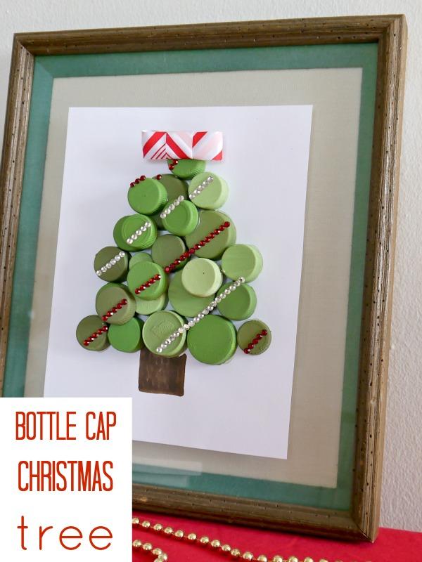 Bottle Cap Christmas Tree   Hometalk