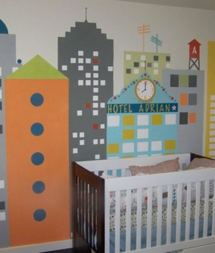 these photos are for a fun interactive nursery i painted in atlanta ga, bedroom ideas, home decor, painting, urban living