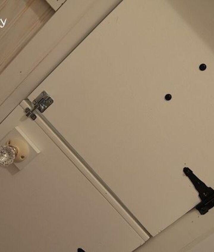Door from the inside ... Double Dutch door