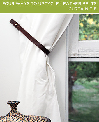 Tie back your curtains in style.