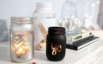Craft Crush: DIY Mason Jar Candle Holder
