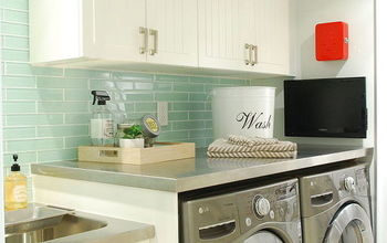 Small Laundry Room With Big Style