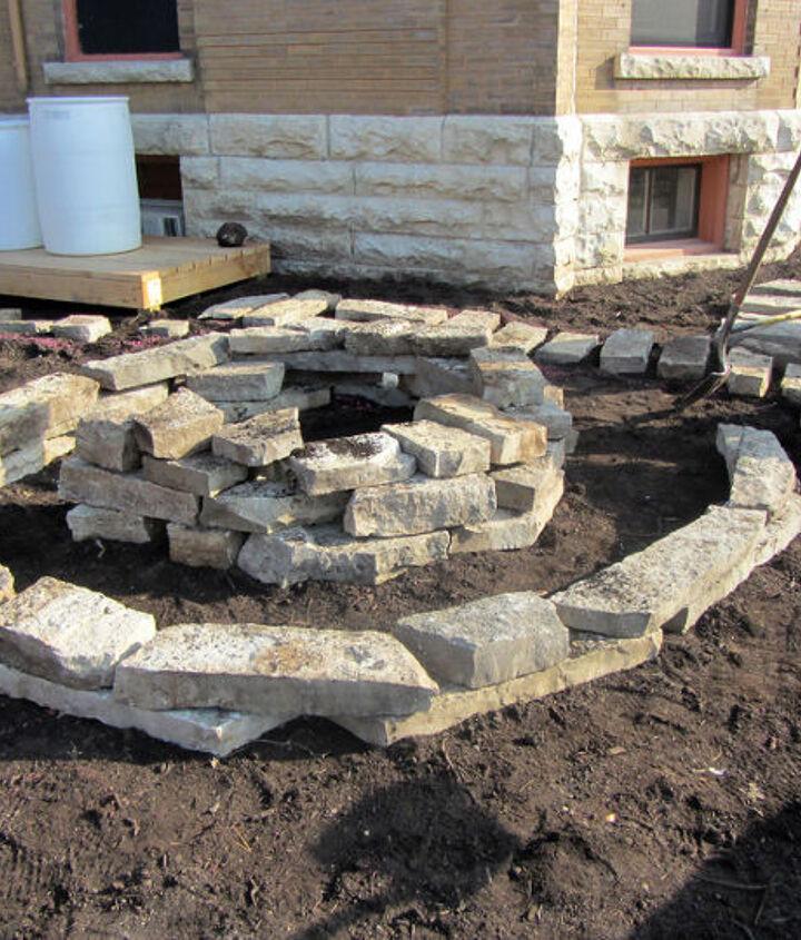 Herb Spiral built fall 2012