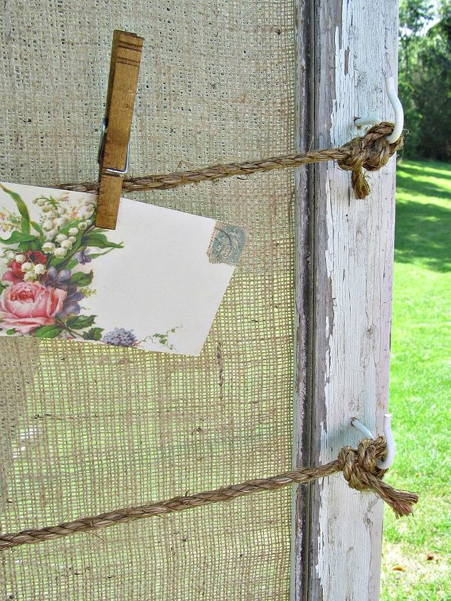 window frames, cleaning tips, crafts, organizing, This window frame memo note memory board organizer was actually purchased to use for a country wedding seating chart display and then as kitchen decor