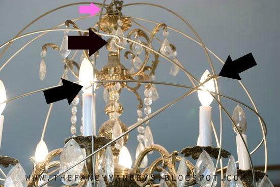 Diy restoration hardware knock off orb chandelier hometalk diy restoration hardware knock off orb chandelier crafts diy home decor how aloadofball Images