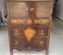 can anyone help identify this piece, painted furniture