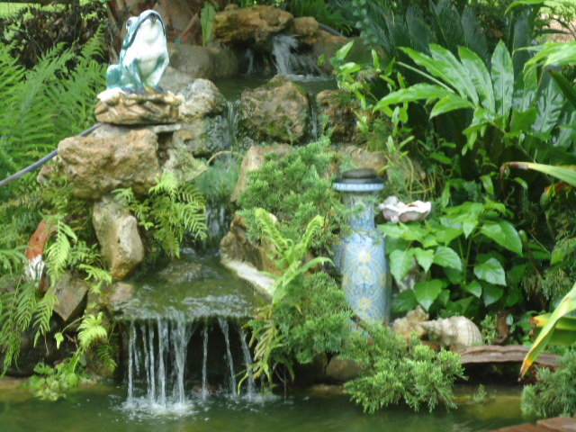 hide aways for fish but useful for us, outdoor living, pets animals, ponds water features, water fall this year