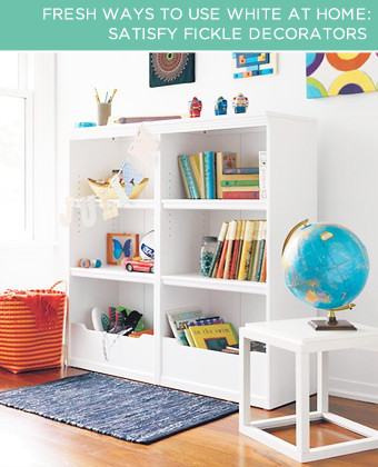 4 fresh ways to use white at home, home decor, painted furniture, Satisfy Fickle Decorators If you never seem to stay smitten with a d cor change for long or you have a trend loving teenager at home a white room is the perfect solution