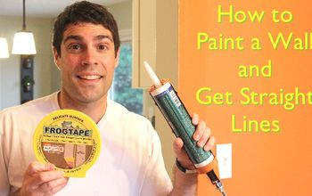 How to Paint a Wall: Get Perfectly Straight Lines