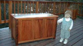 q does anyone know an easy way to create a window seat toy box, painted furniture, windows, blanket box