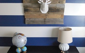 Creating a Focal Wall with Painted Stripes