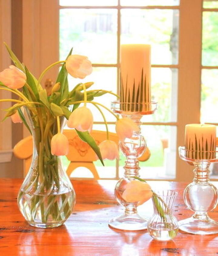 grass candles, crafts