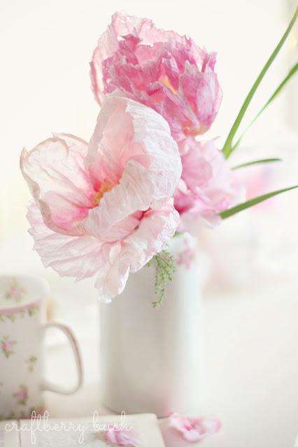 Realistic crepe paper flower hometalk realistic crepe paper flower crafts flowers mightylinksfo