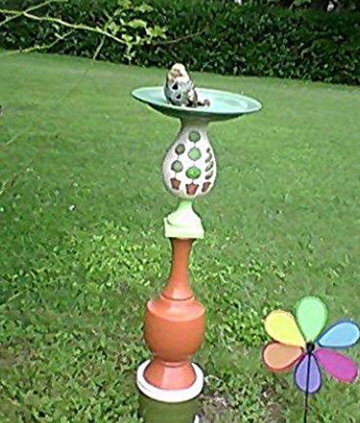 birdfeeder i made in memory of my mom, outdoor living