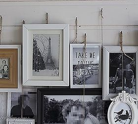 Layered Photo Frames Mantel A Different Kind Of Gallery Wall, Fireplaces  Mantels, Home Decor