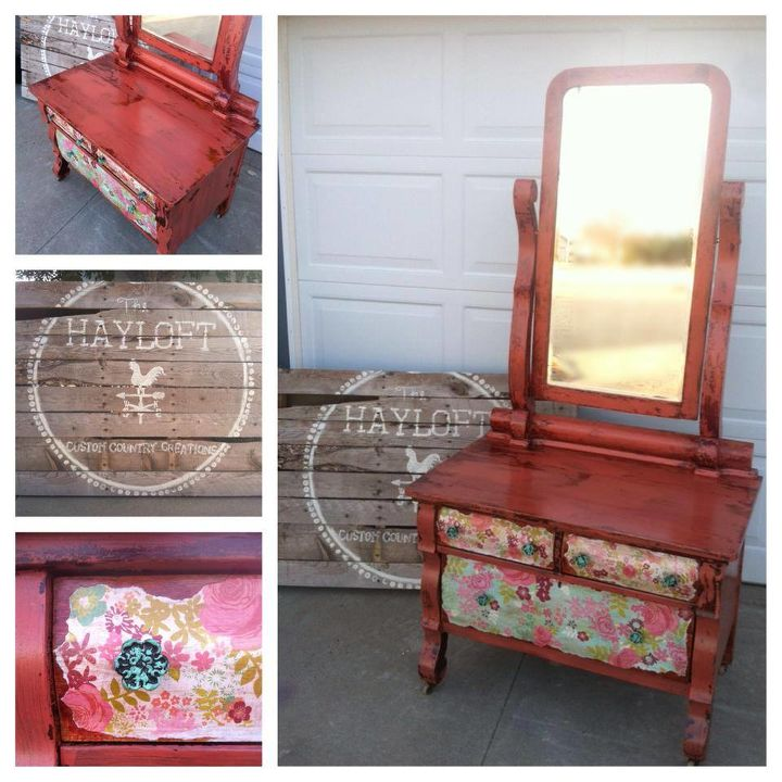charming hotel dresser, painted furniture