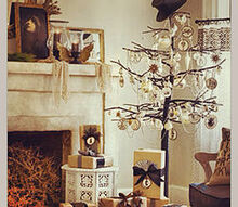 i found this tree in pinterest and absolute adore it what are your th, seasonal holiday decor, How to copy this tree idea