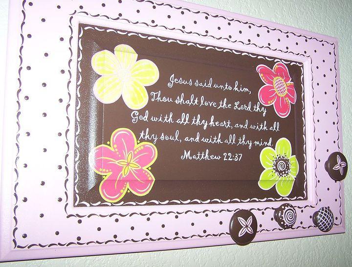 Pink & Chocolate Jewelry Holder by GranArt