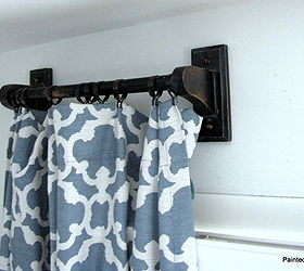 Charming Making Curtain Rods Out Of Towel Bars, Home Decor