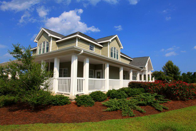 the makings of a charming southern home, home decor, living room ideas, A large wrap around porch