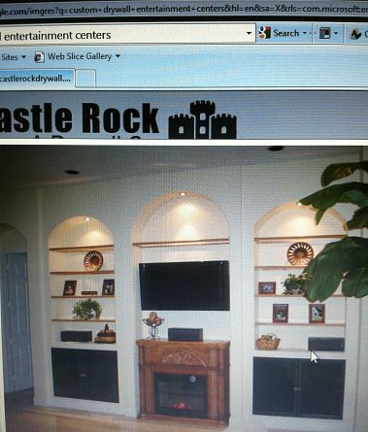 any one know someone who can install a built in for my family room, shelving ideas