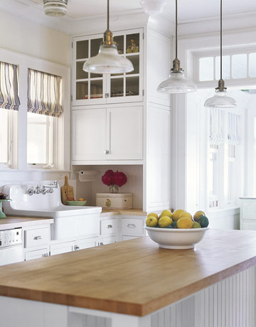 """Butcher block countertops?! """"IN"""" OR """"OUT""""?"""