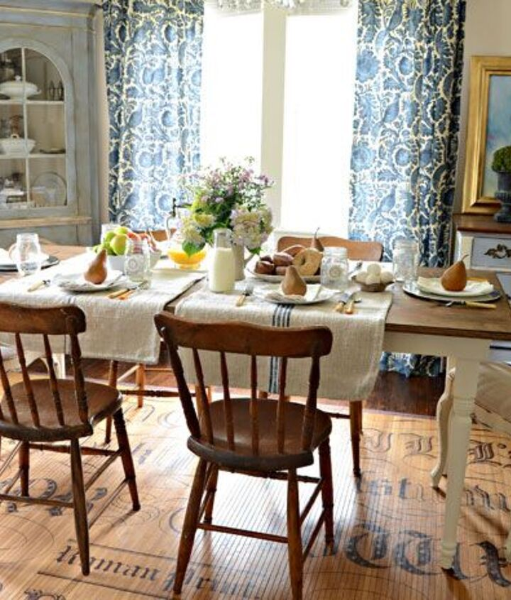 I love a mix of chairs paired with a beautiful Farmhouse Table.