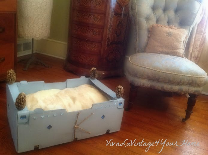 4 poster box bed, crafts, pets animals, repurposing upcycling