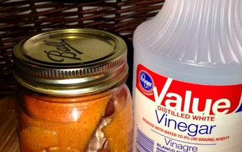 Grapefruit Vinegar Cleaner