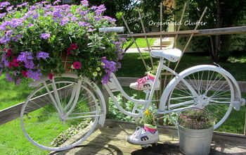 Add A Bike To The Garden Just For Fun