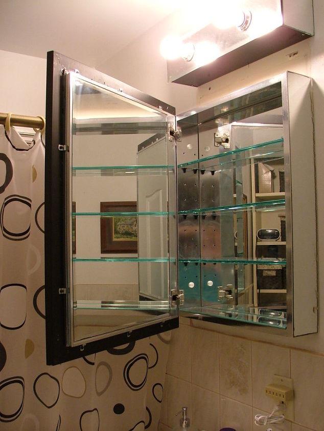 attached mirror door