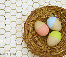 simple easter craft, crafts, Decorating for Easter
