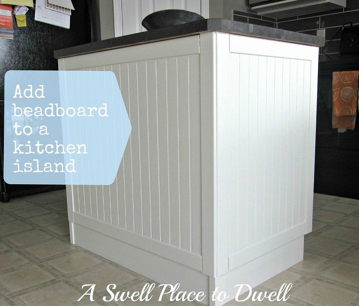 Adding Beadboard To A Kitchen Island Hometalk