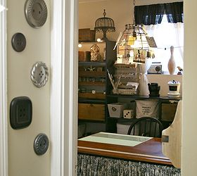 Vintage Inspired Craft Room Home Office, Craft Rooms, Home Decor, Home  Office,