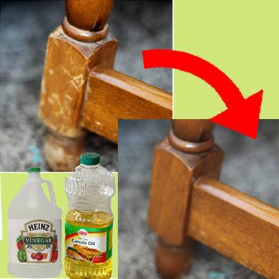 naturally repair wood with vinegar and canola oil  painted furniture   Interesting. Naturally Repair Wood With Vinegar and Canola Oil   Hometalk