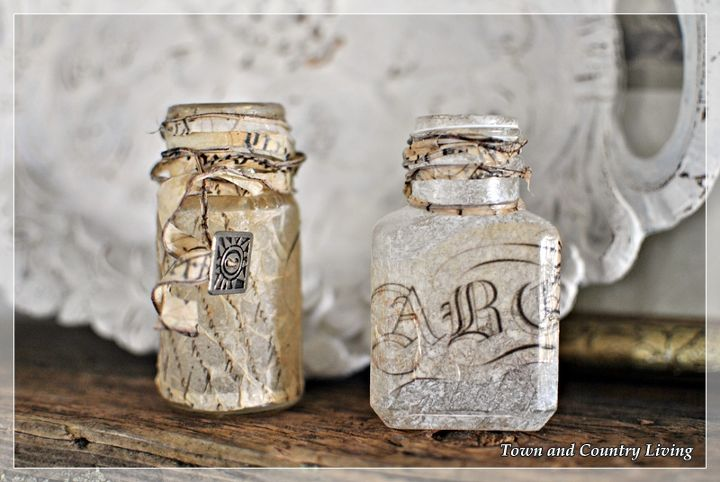 Altered Vintage Bottles Crafts Home Decor And Photography Tips