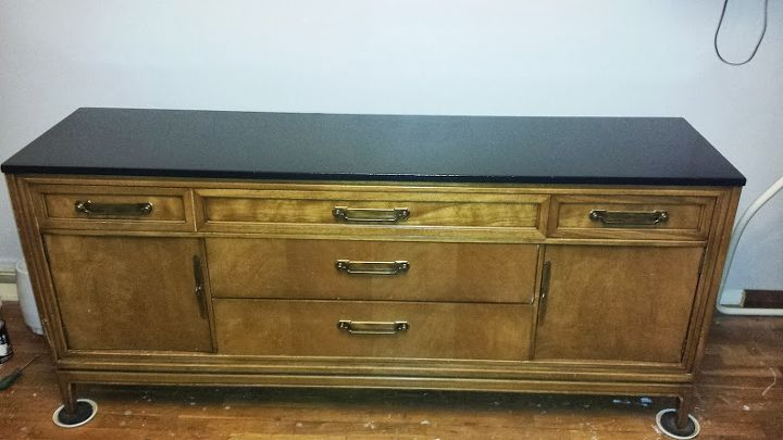 the original buffet table found on craigslist for 150