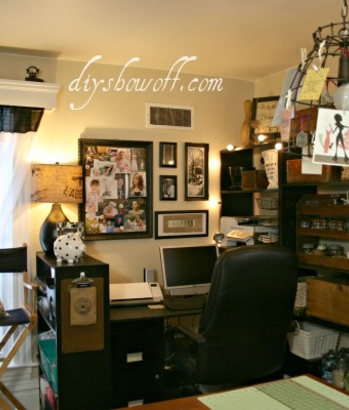Vintage Inspired Craft Room Home Office Hometalk