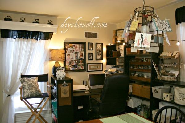Vintage Inspired Craft Room Home Office Hometalk