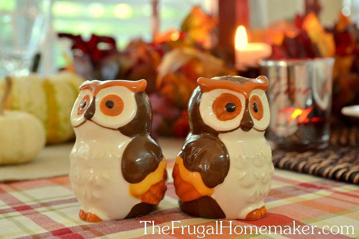 Owl salt and pepper shakers from the fall BHG line at Walmart.