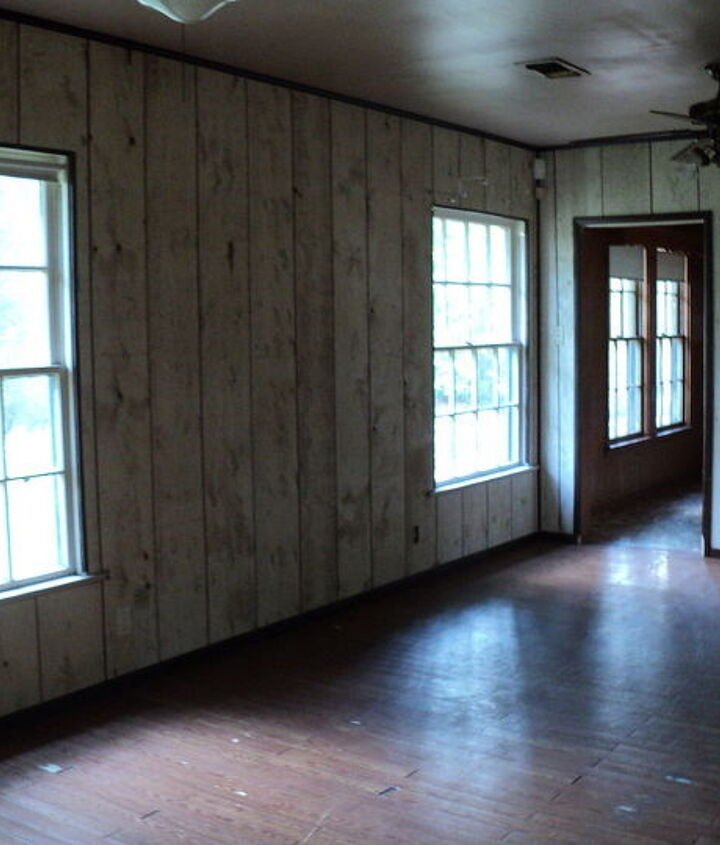old living room....