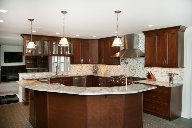 20 Year Old NJ Home Gets A New Gourmet Kitchen & Gameroom | Hometalk