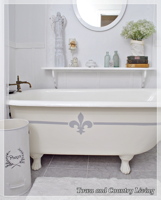 Painting the Claw Foot Tub | Hometalk