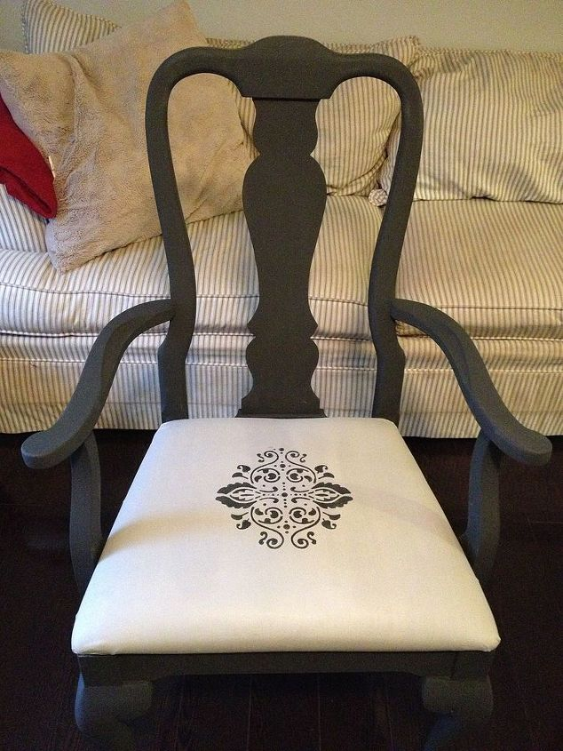 painting fabric with chalk paint hometalk. Black Bedroom Furniture Sets. Home Design Ideas