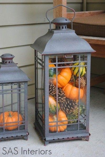 SAS Interiors shares her fantastic porch... love the lanterns!