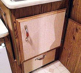 RV Remodel on a Budget Camper Cabinet Update for 0 Hometalk