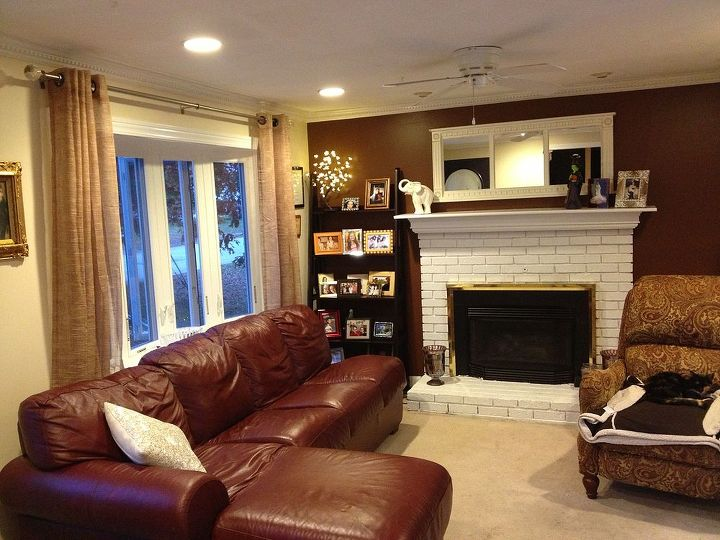 sitting room re do, diy, fireplaces mantels, home decor, how to, living room ideas, painting