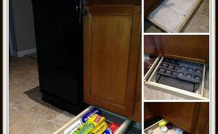 under cabinet drawers, diy, how to, kitchen cabinets, kitchen design, woodworking projects, Finished Drawers