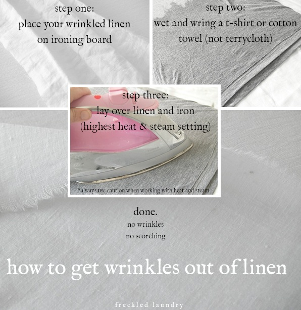 how to remove wrinkles from linen the easy way, cleaning tips